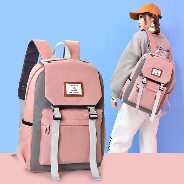 balo đi học màu hồng