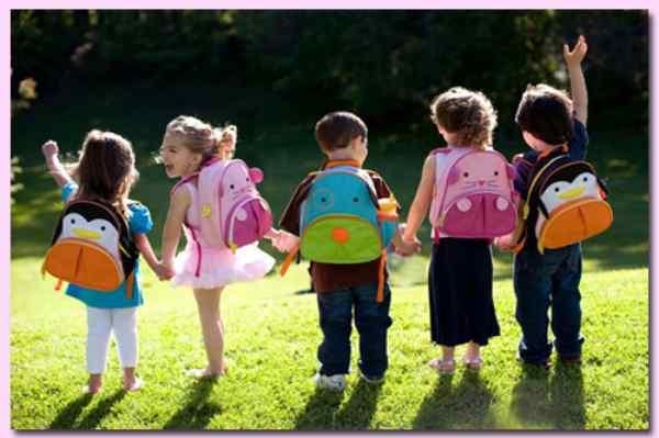balo du lịch cho trẻ em