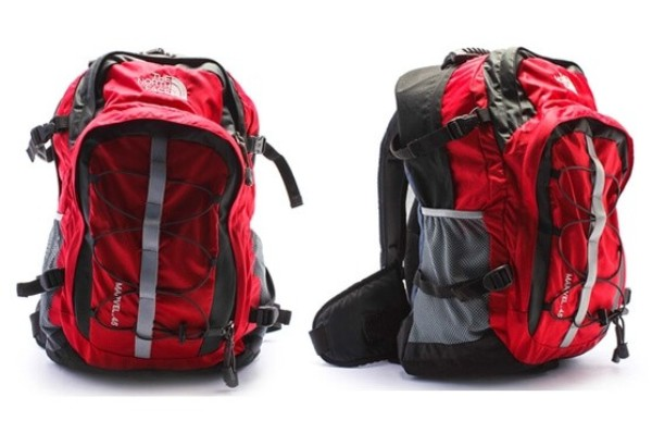 balo du lịch xếp gọn the north face