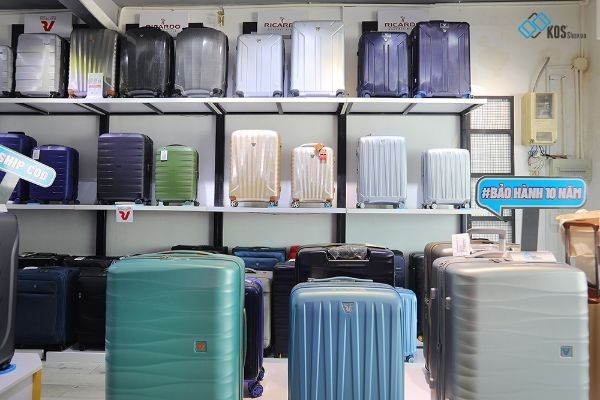 Cửa hàng bán vali kéo ở TPHCM 7