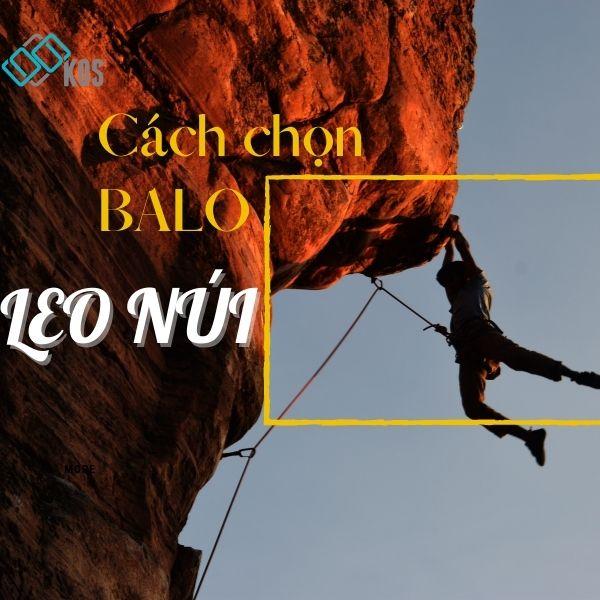 cách chọn balo leo núi