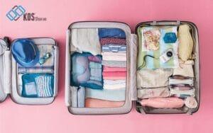 cách xếp hành lý