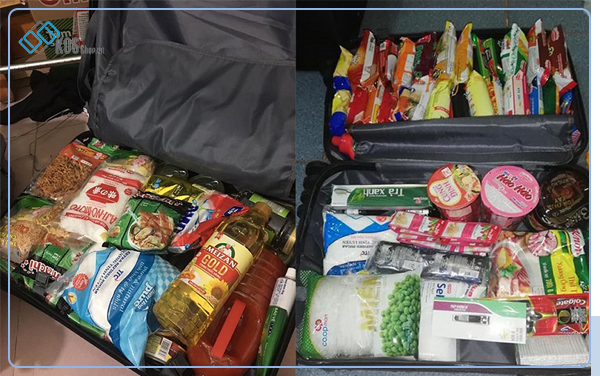 Chuẩn bị đồ ăn trước khi đi du học Nhật Bản