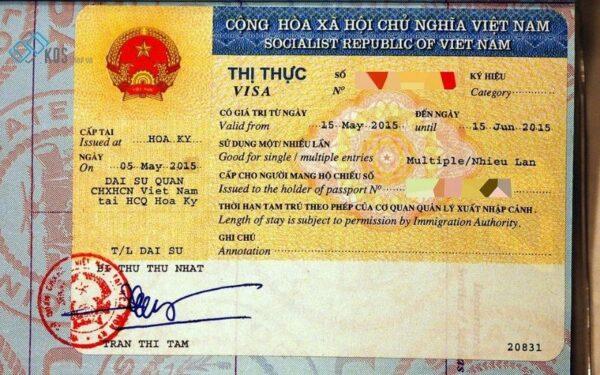 Điều kiện về thị thực